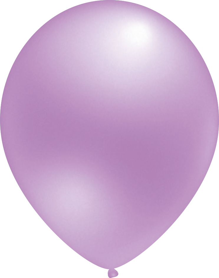 Ballon Metallic Lavendel
