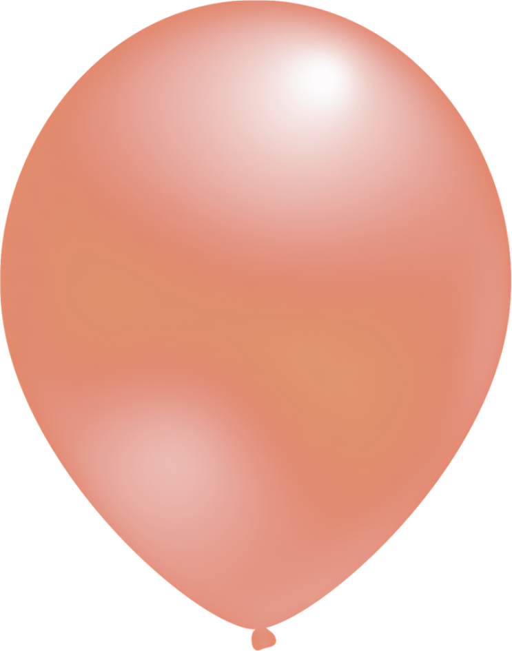 Ballon Metallic Roségold
