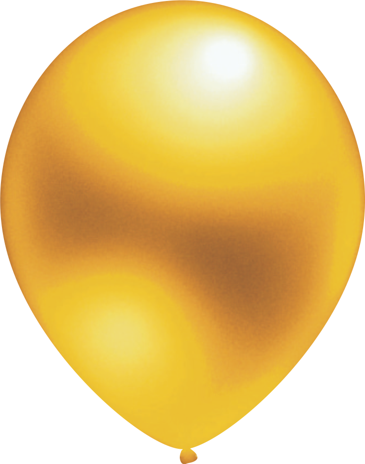 Ballon Metallic Gold