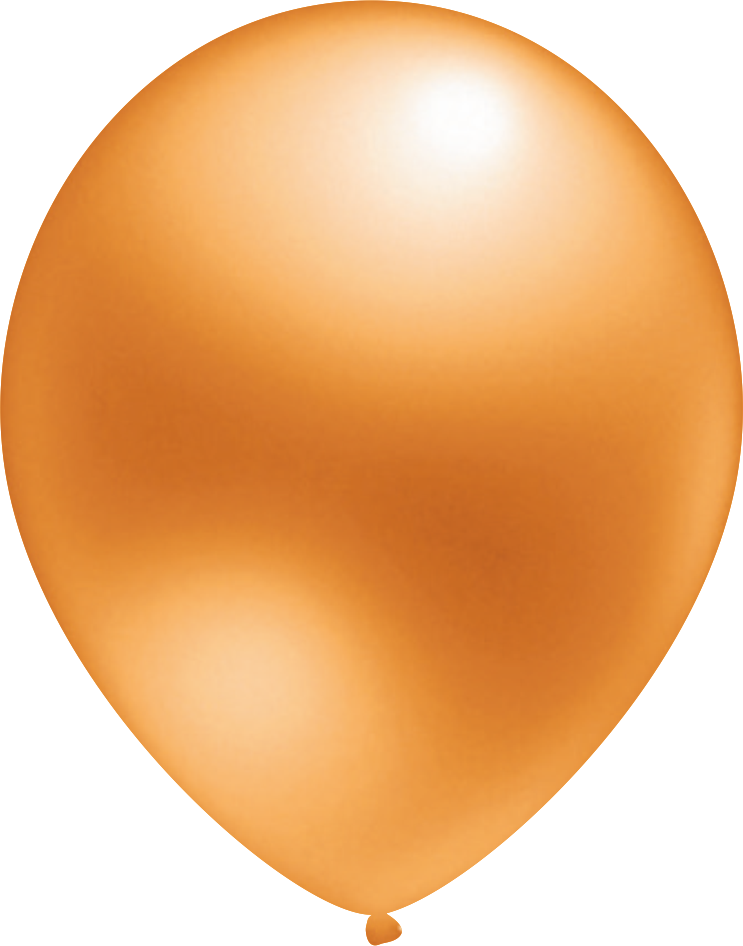 Ballon Metallic Orange